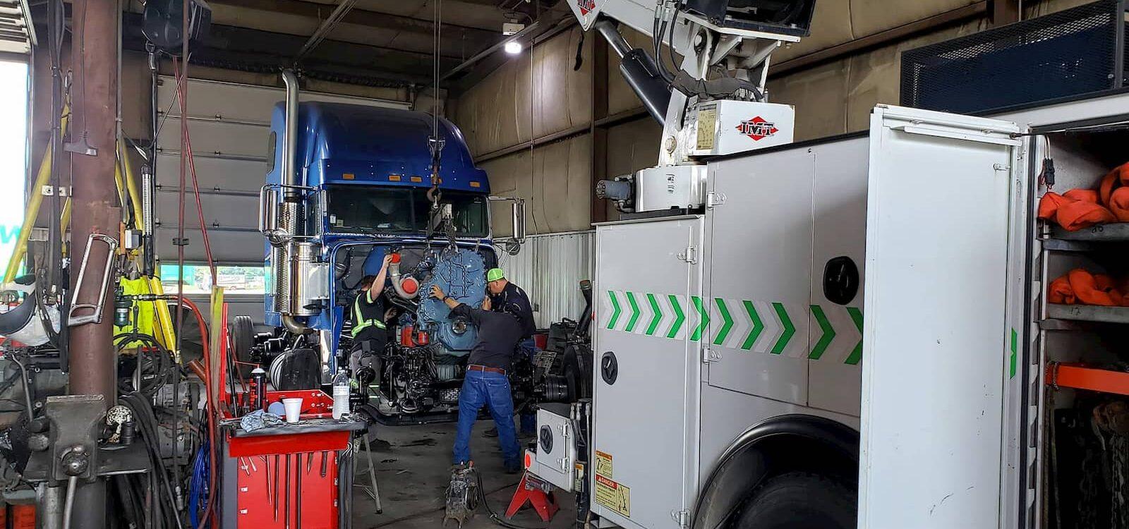 heavy-duty repair