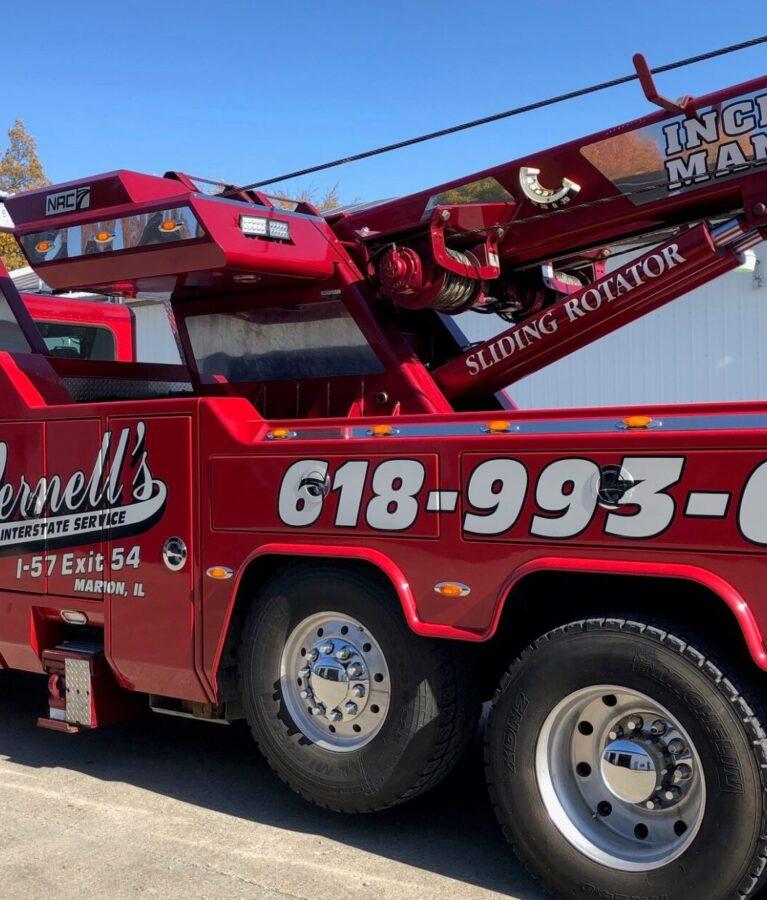 Vernell's Interstate Service heavy-duty wrecker